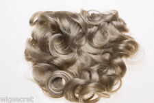 Attach a Piece Curly 6 by 10 Wiglet Medium Curly Hair Pieces Clip-in-Extensions