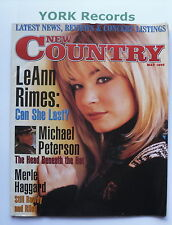 NEW COUNTRY MAGAZINE - May 1998 - LeAnne Rimes / Micheal Peterson /Merle Haggard