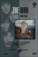 The Who - Who's Next DVD Nuovo Sigillato Jewel Box Custodia non Perfetta