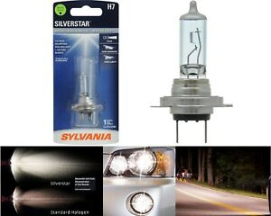 Sylvania Silverstar H7 55W One Bulb Head Light High Beam Replacement Upgrade OE