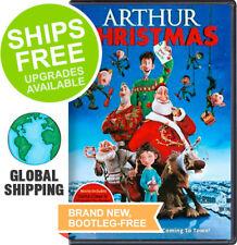 Arthur Christmas (DVD, 2012) NEW,James McAvoy, Jim Broadbent, Bill Nighy