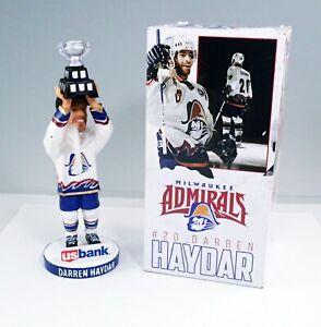 2020 Milwaukee Admirals Hockey Darren Haydar Bobblehead In Box