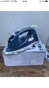 Morphy Richards Turbo Steam Pro Blue Smart Tech Iron High Pressure