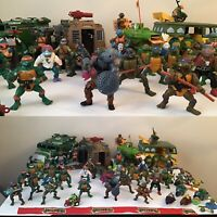 Vintage 80'es Teenage Mutant Ninja Turtles Action Figure lot