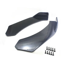 2pcs Universal Front Bumper Splitter Lip Body Protector Diffuser Kit for Car