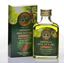 Siberian Pine Nut Oil 100 Ml Premium Quality Extra Virgin First Cold Press - ...