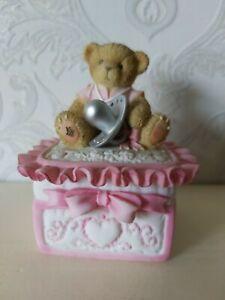 Cherished Teddies Club Collection Trinket Box 114233i CS421