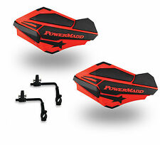 Powermadd Sentinel Handguards Guards Tri Mount Red / Black Utility ATV Honda