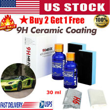 9H Nano Ceramic Car Glass Coating Liquid Hydrophobic Anti-Scratch Care US