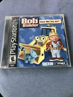 Bob the Builder: Can We Fix It (Sony PlayStation 1, 2001) Complete Tested