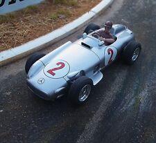 Probuild 1/32 slot car RTR c1955 MERCEDES w196 #2 Argentine GP WINNER MB