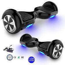 "6,5"" Cool&Fun Hoverboard E-Balance Scooter Elektroroller E-Skateboard Schwarz"
