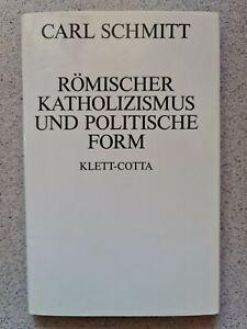 Römischer Katholizismus und politische Form / Carl Schmitt / 1984