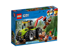 LEGO City 60181 Forest Tractor - logs chainsaw pine tree