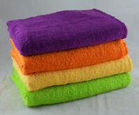 Face Towels Flannels Wash Cloths 100% Cotton 450gsm Pack Set of 12 Small Towels