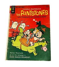 THE FLINSTONES DUDE RANCH ROUNDUP COMIC SIGNED BY WILLIAM HANNA AND JOE BARBERA