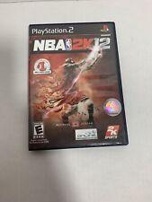NBA 2K12 (PlayStation 2 2011) PS2 Complete Basketball Game Michael Jordan