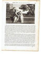 """1825 Vite dei Santi: Sant'Anna Madre di Maria Vergine 26 Luglio """"Sainte Anne"""""""