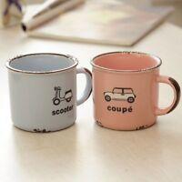 Ceramic Mug Retro Bus Car Style Coffee Milk Breakfast Cup With Handles 270ml New