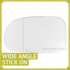Left Passenger Side WIDE ANGLE WING DOOR MIRROR GLASS For Volvo C70 2007-2009