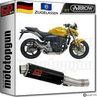 EXHAUST GP GUN by ARROW SCHWARZ HONDA CBR 600 F 2011 11 2012 12 2013 13