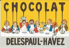 Carte Postale Publicitaire & CHOCOLAT DELESPAUL-HAVEZ
