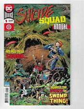 Suicide Squad Annual DC Comics #1 VF+ Swamp Thing Harley Quinn 2018