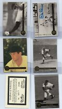 DON LARSON 1995 FRONT ROW PREMIUM ALL TIME GREATS AUTOGRAPH 5 CARD SET YANKEES