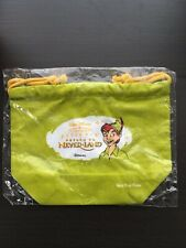 Lunch Bag Peter Pan Return to Never Land Disney Anime Rare Not Sold in Stores