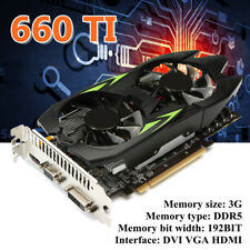 NVIDIA GeForce GTX660Ti 3GB GDDR5 192Bit VGA DVI HDMI Gaming PC Graphics Card