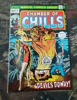 Chamber  Of Chills #5 1973 Marvel Comics Clean Copy