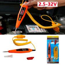 Digital Electric Circuit LCD Tester Probe 2.5V-32V Car Trailer RV Snowmobile SUV