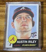 2019 Topps Living Baseball Card # 206 of Austin Riley - RC - Atlanta Braves