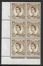5d Wilding Violet Phosphor 9.5mm cyl 1 Dot perf type F(L)(P/E) UNMOUNTED MINT