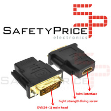 Adattatore Convertitore HDMI Femmina A DVI(24+1) Maschio Connettore