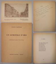 Tartufari UN GOMITOLO D'ORO 1955 Rattero cartolina autografo Poesia Romanesca