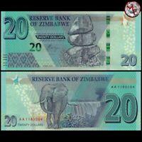 Zimbabwe - 20 Dollars 2020 - Pick- NEW - UNC