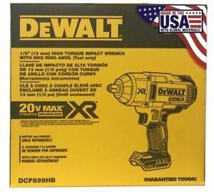DEWALT DCF899HB 20V MAX XR Li-Ion 1/2 in. Impact Wrench Friction Hog Ring Anvil