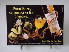 Suze, fille de Gentiane   cpa pour Suze se pressent les citrons.