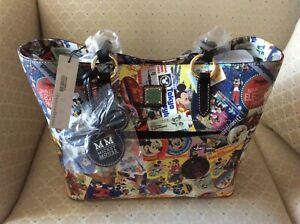 Dooney & Bourke Disney World Mickey Mouse 90th Through the Years bag purse