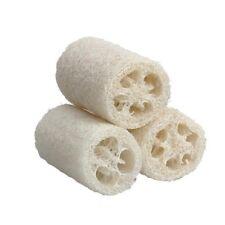 3 x NATURAL Bath loofah sponge spa loofah bath sponge bathroom accessories