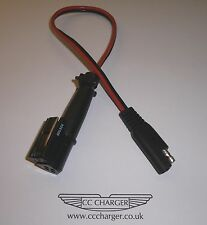Ferrari Battery Charger Adapter 4 Way Plug & OptiMate / AccuMate SAE Connector