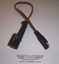 Ferrari Battery Charger Adapter 4 Way Plug & OptiMate / AccuMate SAE Connector