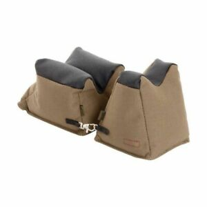Allen Shooter's Rest Front And Rear Bag Prefilled Brown - 1830