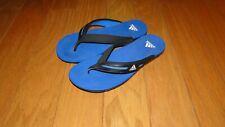 Adidas Calo 4 M Flip Flop Sandals Shoes Size 11 Blue Men's V22945