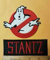 Ghostbusters Name Tag Stantz & No Ghost Cosplay/Costume/Uniform patch
