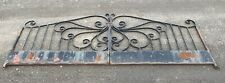 Victorian Vintage Wrought Iron Gates For Restorations