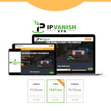 IPvanish Vpn Premium ✔️ 3 Years FULL WARRANTY✔️   AUTO RENEW