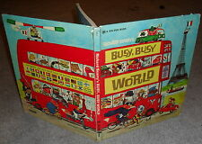 Richard Scarry - Busy, Busy World - HB giant Golden Book 33 adventures