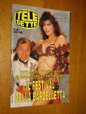 TELESETTE 1994/38=PAMELA PRATI PIPPO FRANCO=TERRY SCHIAVO=MICHAEL ZASLOW=PRINCE=